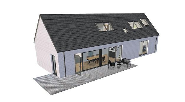 HebHomes | Architect Designed Kit Houses - Delivered ... on ireland cottage floor plans, ireland house drawings, ireland lifestyle,