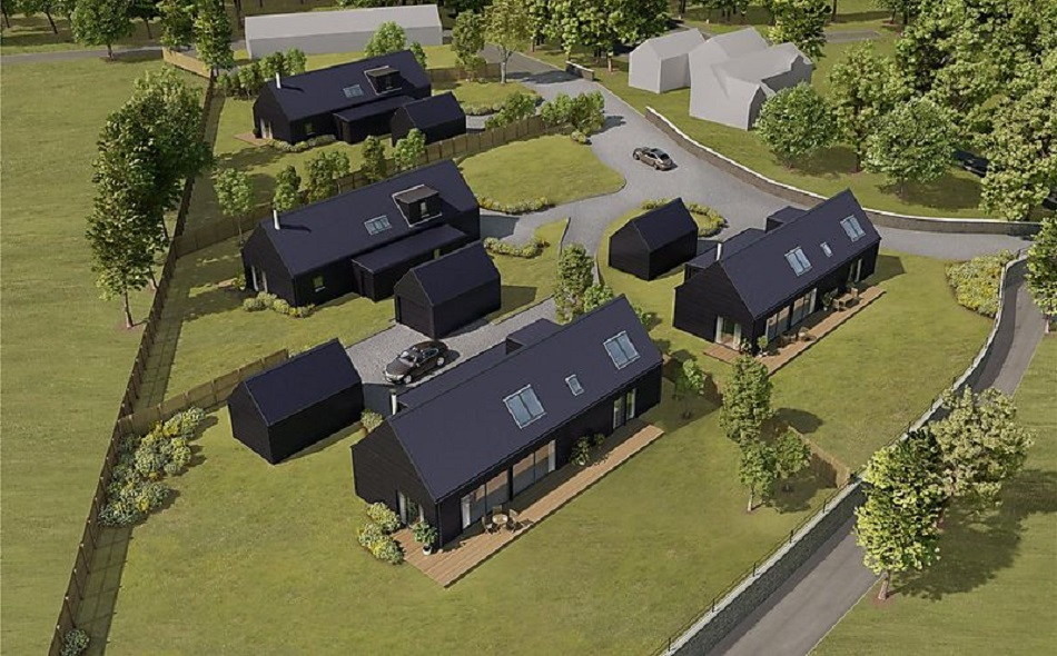 Plots in Angus with full Hebhomes planning