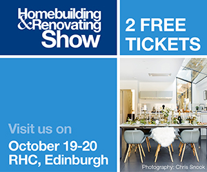 2 x Free Tickets to Edinburgh Homebuilding Show October