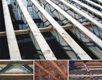 Space metal web joists now used