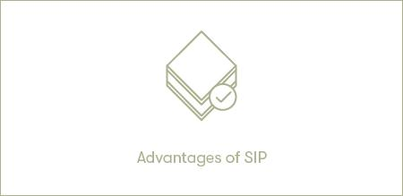 Advantages of SIP